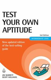 Test your own aptitude by James Barrett