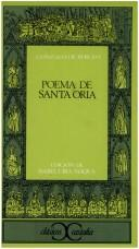Cover of: Poema de Santa Oria