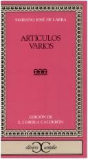 Cover of: Articulos Varios