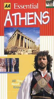 Cover of: Essential Athens