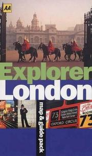 Cover of: London (AA Explorer)