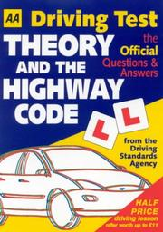 Cover of: AA Driving Test