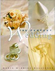 Cover of: The perfect wedding