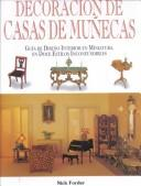 Cover of: Decoración de casas de muñecas by Nick Forder