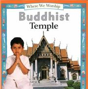 Cover of: Buddhist Temple (Where We Worship)