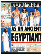 Cover of: Egyptian (How Would You Survive)