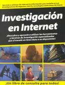 Cover of: Investigacion En Internet