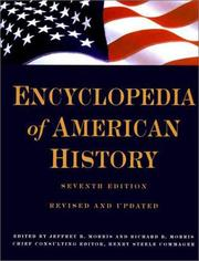 Cover of: Encyclopedia of American History | Morris, Richard Brandon