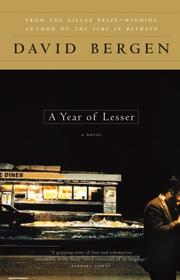 Cover of: A Year of Lesser | David Bergen