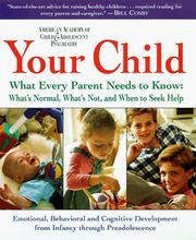 Cover of: Your Child | AACAP