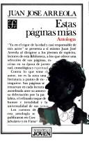 Cover of: Estas páginas mías