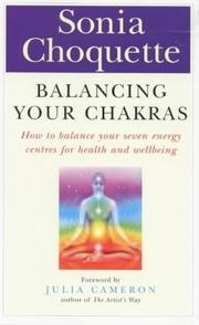Cover of: Balancing Your Chakras