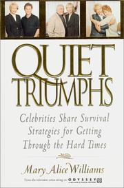 Cover of: Quiet Triumphs | Mary Alice Williams