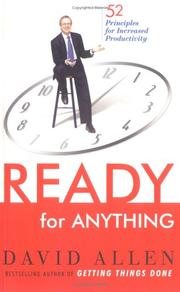 Cover of: Ready for Anything: 52 Productivity Principles for Work and Life