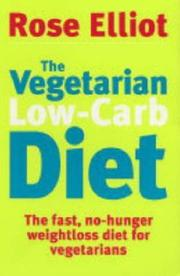 Cover of: The Vegetarian Low-Carb Diet