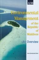 Environmental Management of the Maldives  by