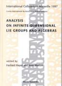 Cover of: Analysis on Infinite-Dimensional Lie Groups and Algebras |