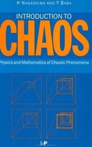 Cover of: Introduction to chaos | Hiroyuki Nagashima