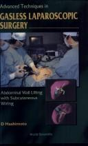 Cover of: Abdominal wall lifting and advanced techniques in laparoscopic surgery