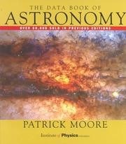 Cover of: The Data Book of Astronomy | Patrick Moore