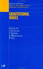 Cover of: Gravitational waves