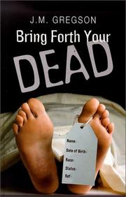 Cover of: Bring Forth Your Dead