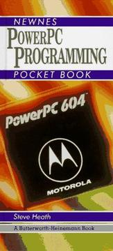 Cover of: PowerPC programming pocket book