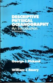 Cover of: Descriptive Physical Oceanography, Fifth Edition | G L PICKARD, W J Emery