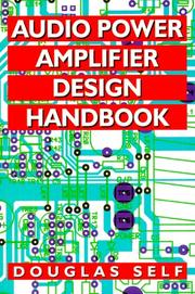 Audio Power Amplifier Design Handbook 1996 Edition border=