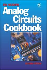 Cover of: Analog circuits cookbook | Ian Hickman