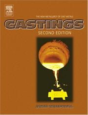 Cover of: Castings principles |