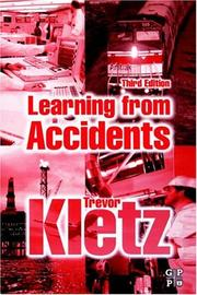 Cover of: Learning from Accidents