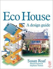 Cover of: Ecohouse | Susan Roaf