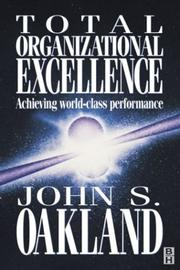 Cover of: Total Organizational Excellence