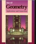 Cover of: Merrill Geometry Applications and Connections | Burrill