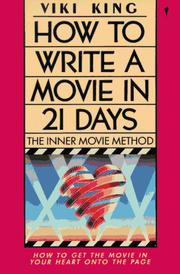 Cover of: How to Write a Movie in 21 Days | Viki King