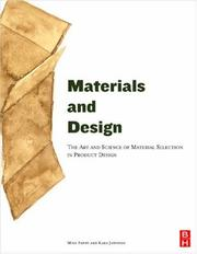 Cover of: Materials and Design | Michael Ashby