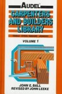 Cover of: Auder Carpenters and Builders Library | John E. Ball