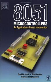 Cover of: 8051 microcontroller | D. M. Calcutt