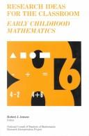 Cover of: Early childhood mathematics |