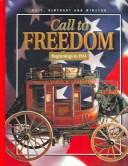 Cover of: Call to freedom