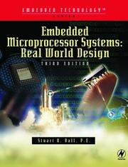 Embedded microprocessor systems by Stuart R. Ball