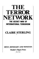 The terror network by Claire Sterling