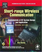 Short-range wireless communication by Alan Bensky