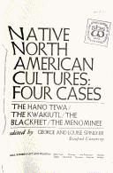 Cover of: Native North American Cultures | George Spindler