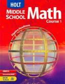 Cover of: Holt Middle School Math | Jennie M. Bennett