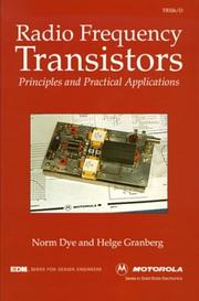 Radio frequency transistors by Norm Dye