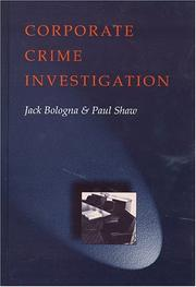 Cover of: Corporate crime investigation