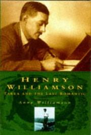 Cover of: Henry Williamson