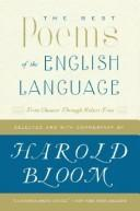 Cover of: The Best Poems of the English Language | Harold Bloom